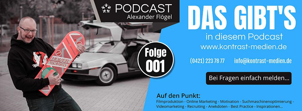 Podcast 001 - Was Ihr erwarten könnt