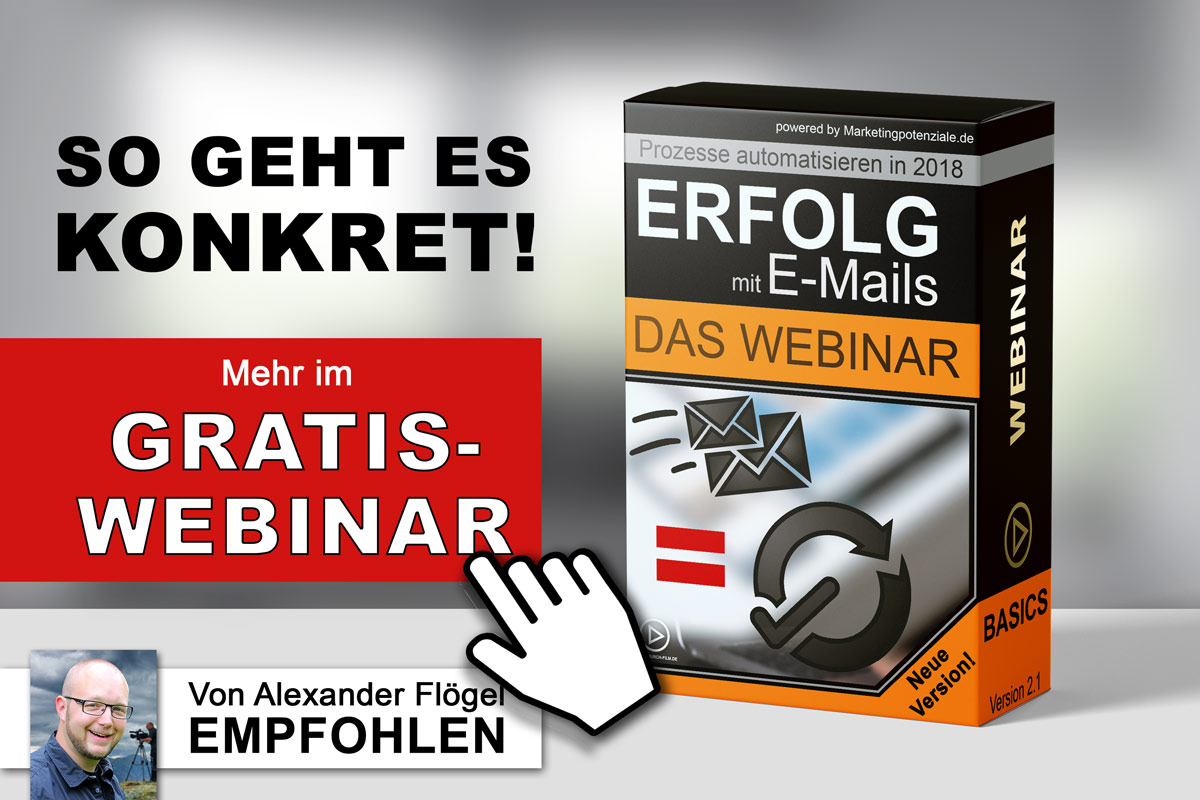 Das beste E-Mail-Marketing - automatisierte Prozesse made in Germany - konform mit DSGVO 2018
